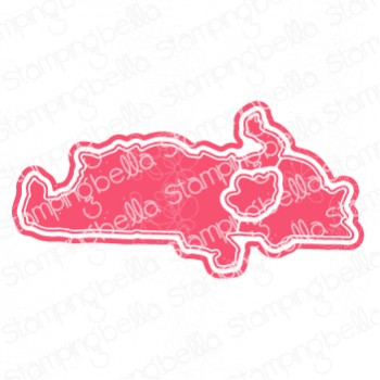 "Stamping Bella - SQUISHY CATS ""cut it out"" die"