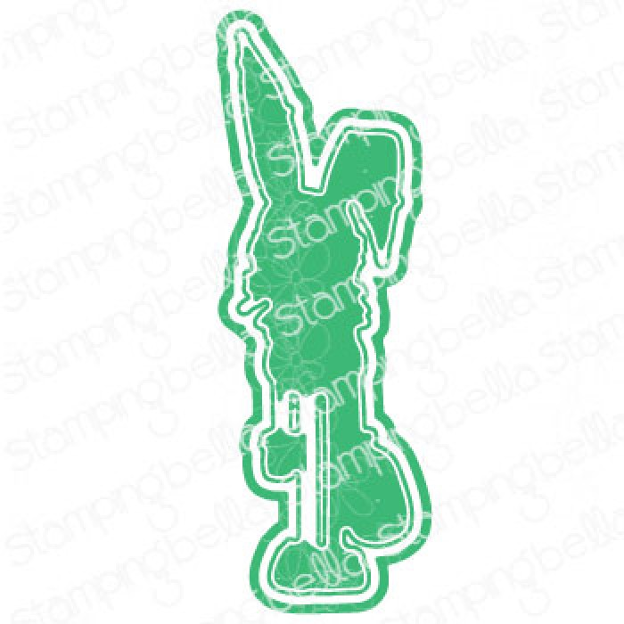 "*NEW* - Stamping Bella - ODDBALL EASTER BUNNY ""CUT IT OUT"" DIE"