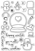 CL Poppystamps - You Melt My Heart Clear Stamp Set
