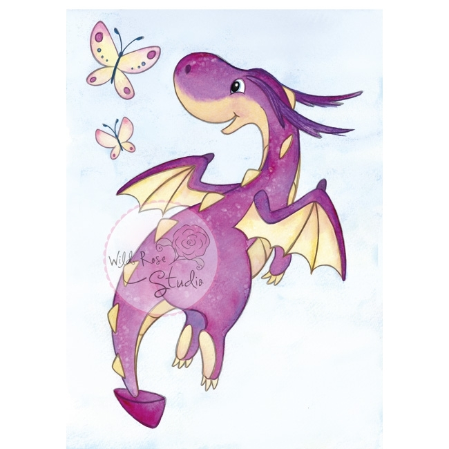 *NEW* - Wild Rose - Dragon Flying
