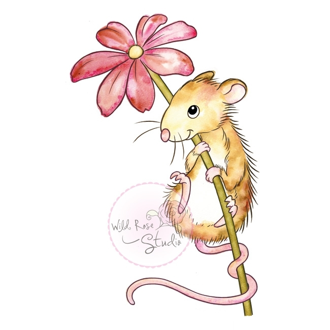 *NEW* - Wild Rose - Mouse and Flower