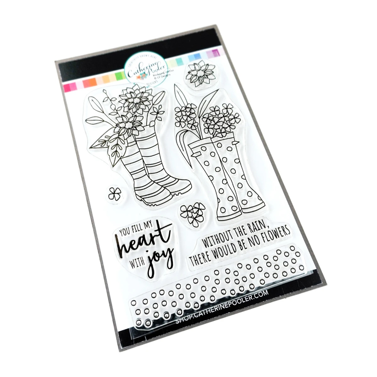 Catherine Pooler - Bloomin' Wellies Stamp Set