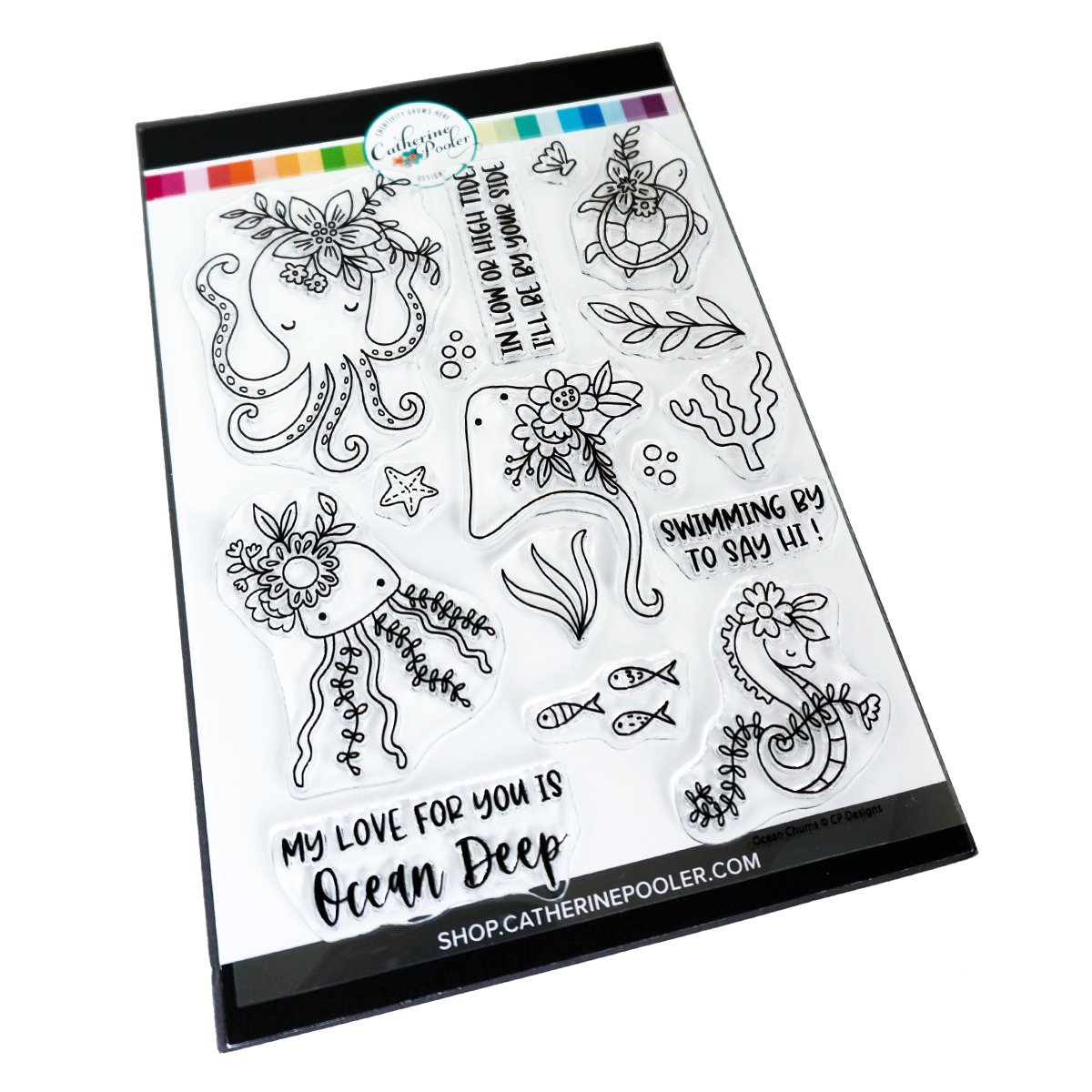 *NEW* - Catherine Pooler - Ocean Chums Stamp Set