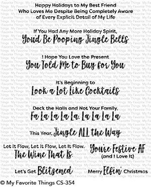 #My Favorite Things - Sassy Pants Holiday
