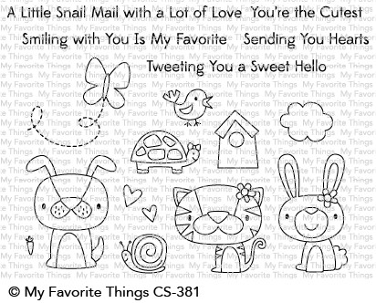 *NEW* - My Favorite Things - Cute Critters