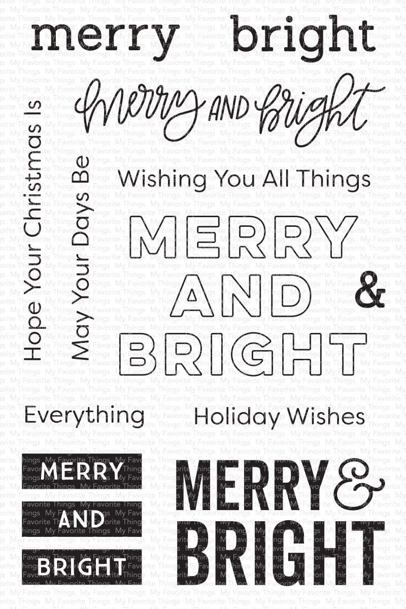 *NEW* - My Favorite Things - Merry & Bright
