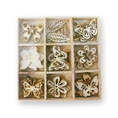 Crafts Too Wood Embellishments - Butterfly