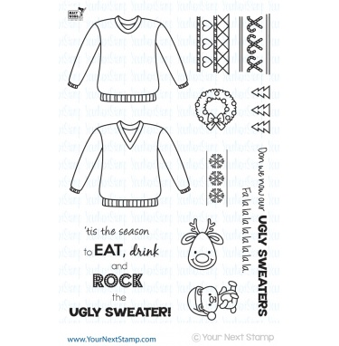 Your Next Stamp- Ugly Sweater