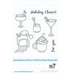 *CS* Your Next Stamp- Holiday Cheers STAMP AND MATCHING DIE