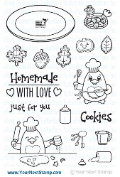Your Next Stamp- Waddles - Homemade With Love