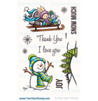 Your **XMAS* Next Stamp- Snow Much Joy PLUS MATCHING DIE