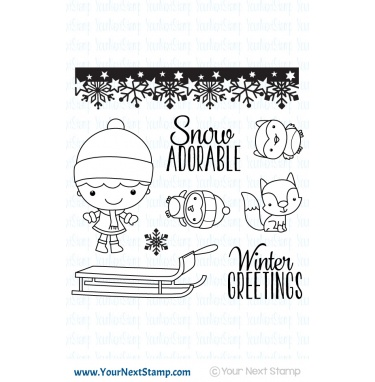 Your Next Stamp- Winter Wonderland Phoebe