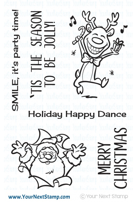 Your Next Stamp - Be Jolly