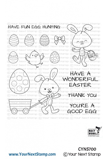 *NEW* - Your Next Stamp - Egg Hunt