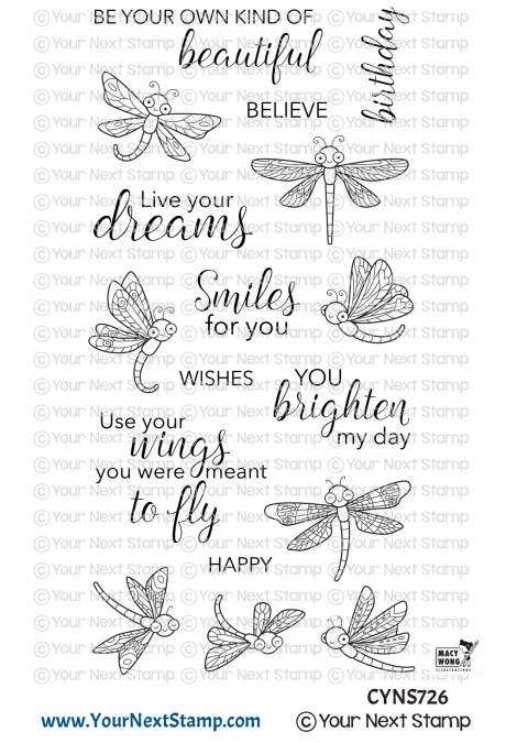 *NEW* - Your Next Stamp - Dancing Dragonflies