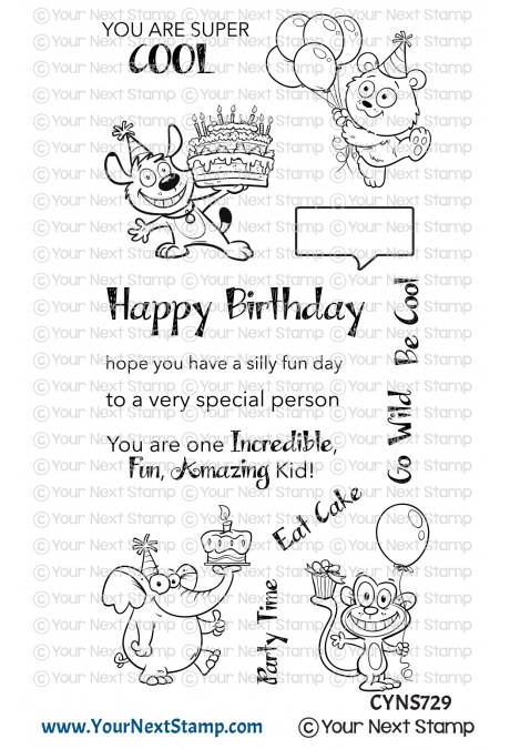 *NEW* - Your Next Stamp - Silly Fun Birthday