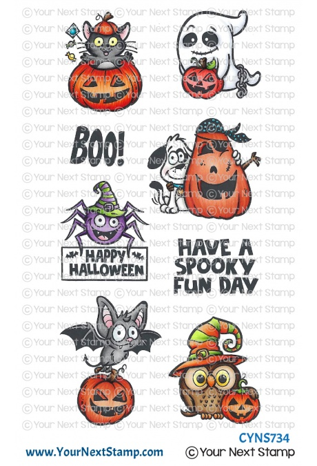 *NEW* - Your Next Stamp - Spooky Fun