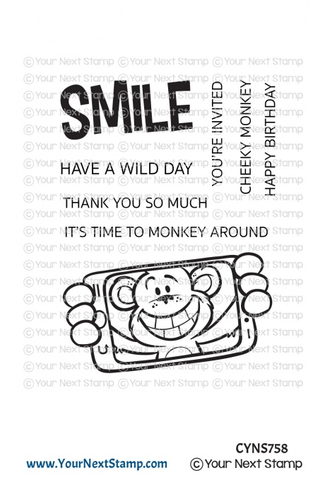 *NEW* - Your Next Stamp - Cheeky Monkey