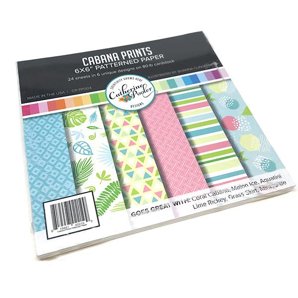Catherine Pooler - Cabana Prints Patterned Paper