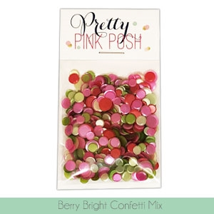 Pretty Pink Posh - Berry Bright Confetti Mix