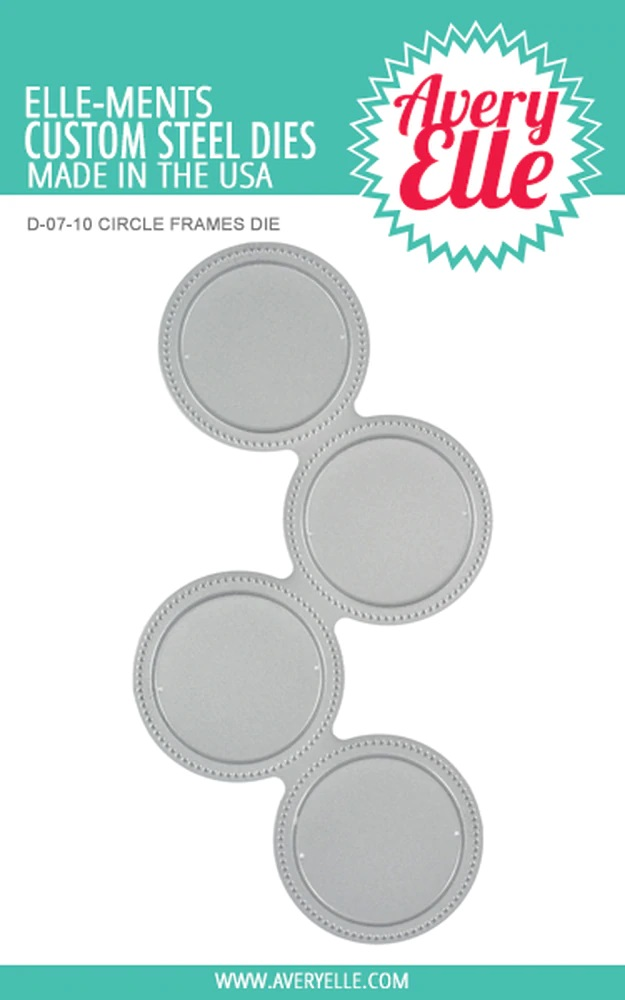 *NEW* - Avery Elle - Circle Frames Elle-ments die