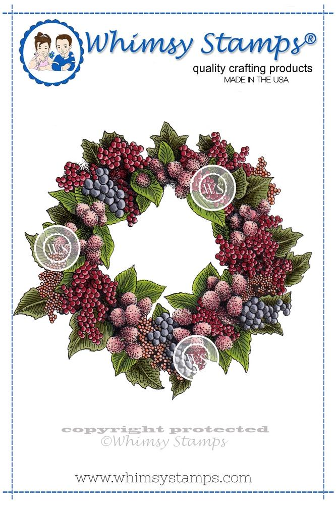 Whimsy Stamps - Harvest Wreath