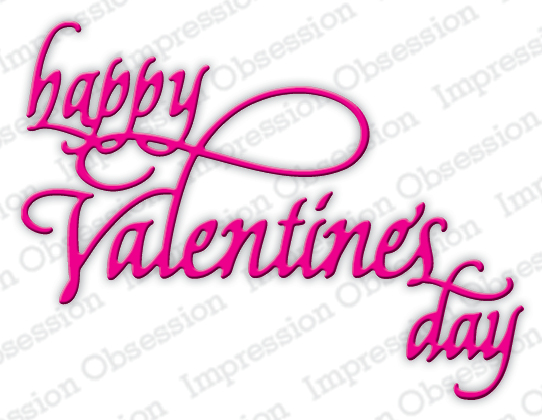 *NEW* - Impression Obsession - Happy Valentine's Day