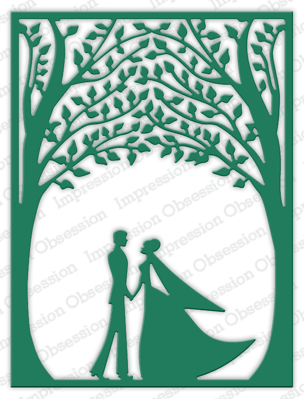 *35* Impression Obsession - Bride & Groom Frame