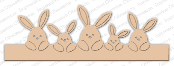 Impression Obsession - Bunny Border