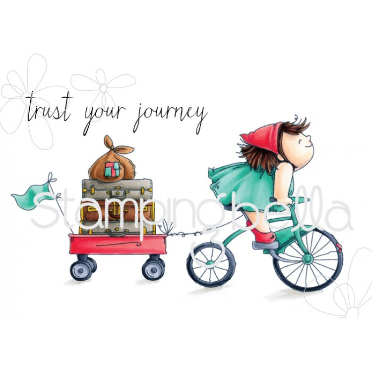 Stamping Bella - The Squidgy on a journey