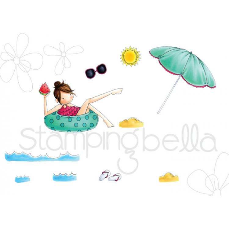 *NEW* - Stamping Bella - Tiny Townie Frances loves to float
