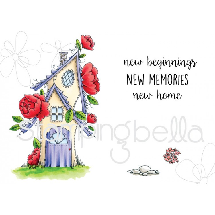 *NEW* - Stamping Bella - Tiny Townie fairy garden house
