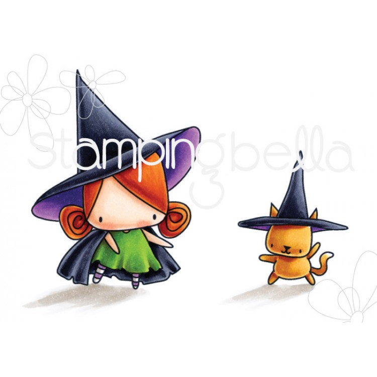 Stamping Bella - Little Bits, little witches