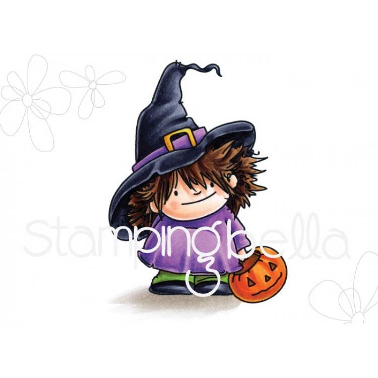 Stamping Bella - Squidgy, witchy trick or treater