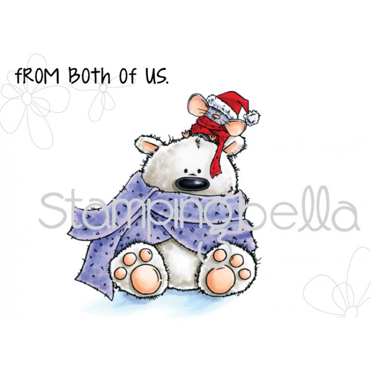 Stamping Bella - POLAR BEAR and MOUSIE stuffies