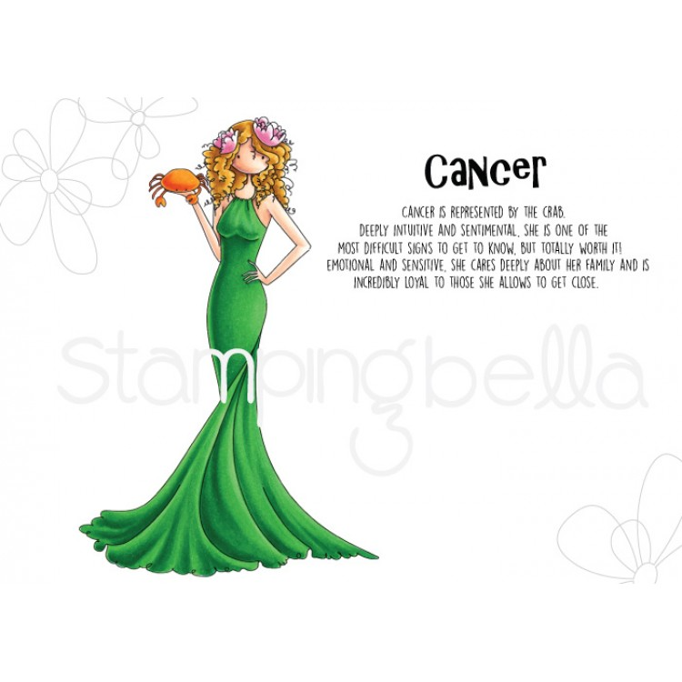 *PRE-ORDER* - Stamping Bella - UPTOWN GIRL ZODIAC-CANCER