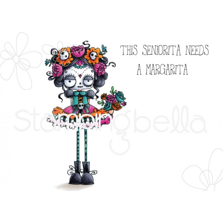 *NEW* - Stamping Bella - DAY OF THE DEAD ODDBALL