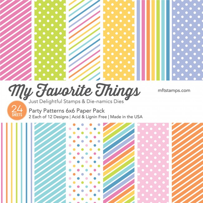 My Favorite Things - Party Patterns Paper Pack