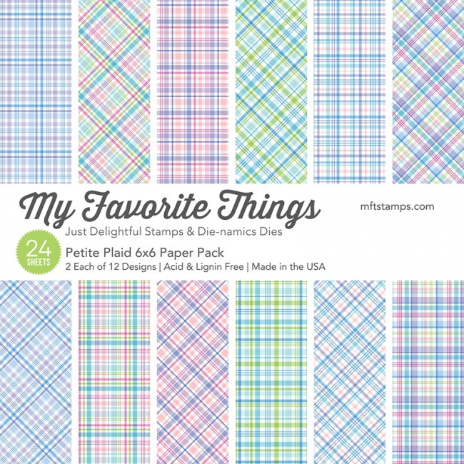 My Favorite Things - Petite Plaid Paper Pack