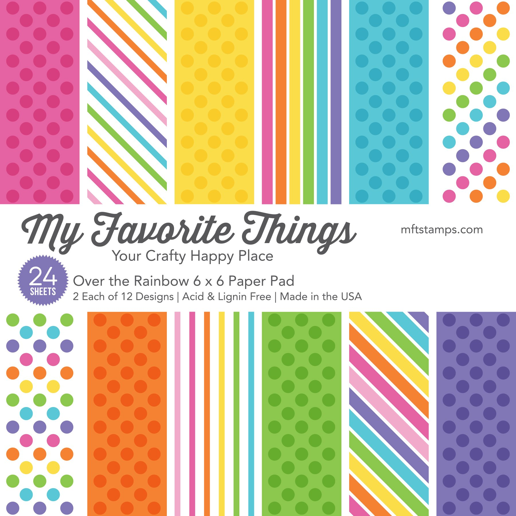 My Favorite Things - Over the Rainbow Paper Pack