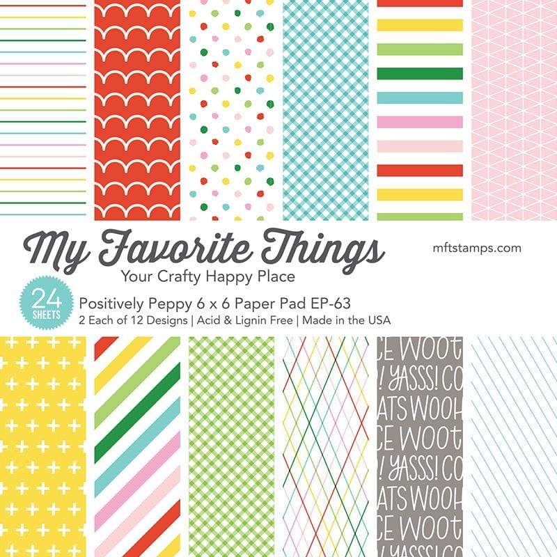 My Favorite Things - Positively Peppy Paper Pad