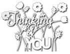 *35* Frantic Stamper - Floral Thinking Of You