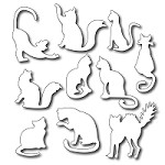 *35* Frantic Stamper - Ten Fun Felines