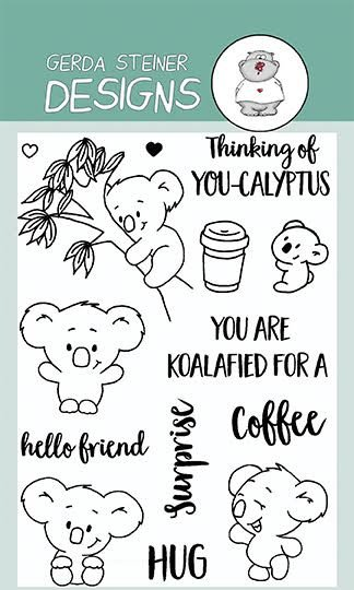 Gerda Steiner - You're Koalafied 4x6 Clear Stamp Set