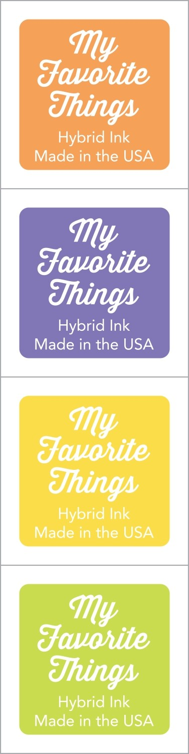 My Favorite Things - Hybrid Ink Cubes - Set 1