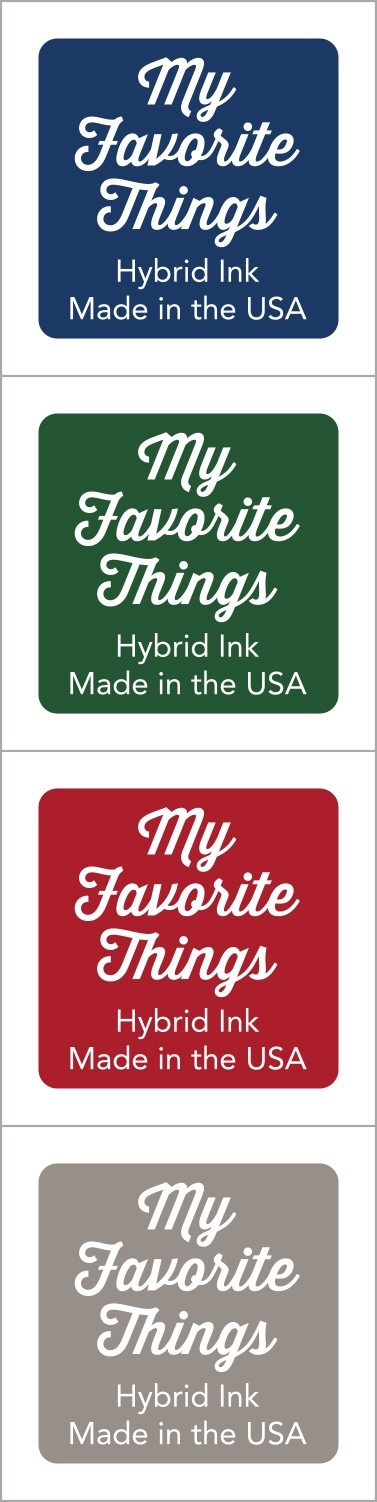 My Favorite Things - Hybrid Ink Cubes - Set 11