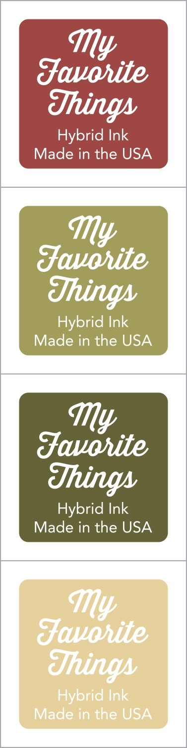 My Favorite Things - Hybrid Ink Cubes - Set 13