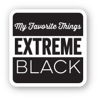 My Favorite Things - Extreme Black Hybrid Ink Cube