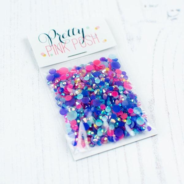 Pretty Pink Posh - Berry Splash Mix Jewels