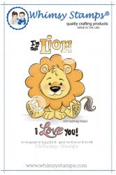 Whimsy Stamps - Lion Love - Krista Heij-Barber